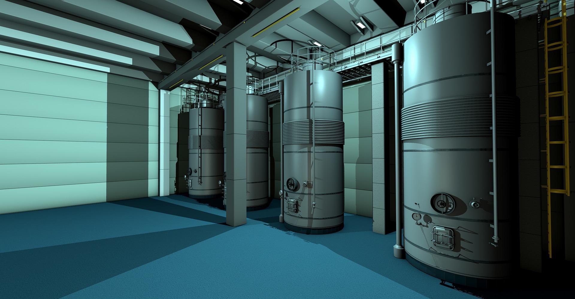 Boiler Room 3D rendering