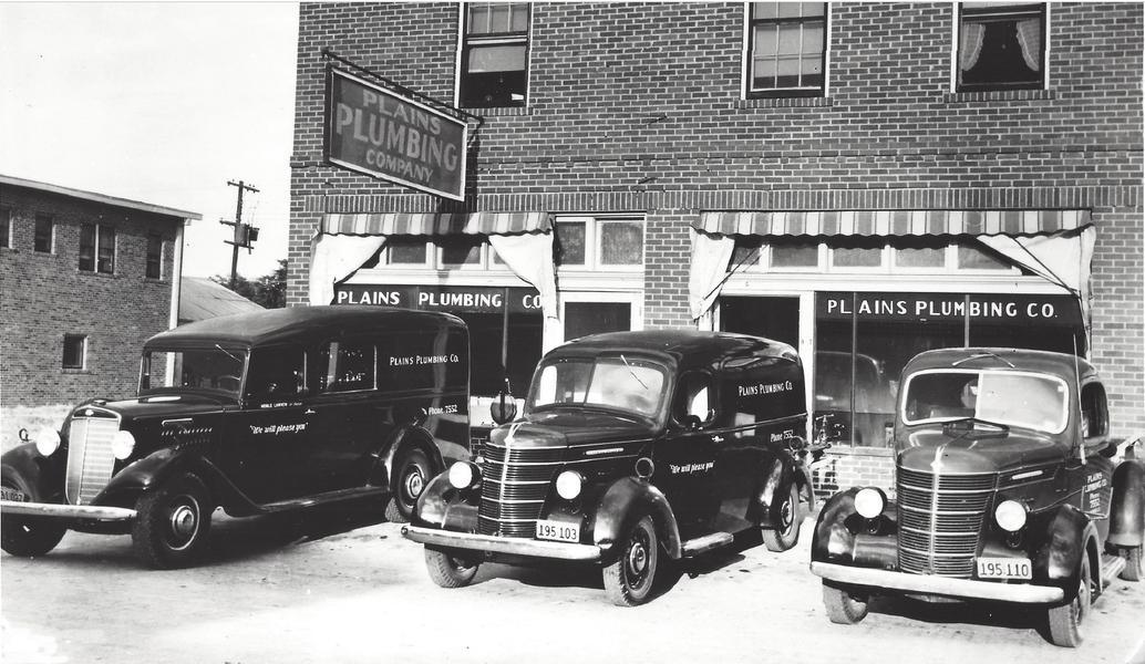 Plains Plumbing History
