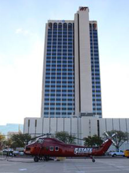 chase tower hvac helicopter